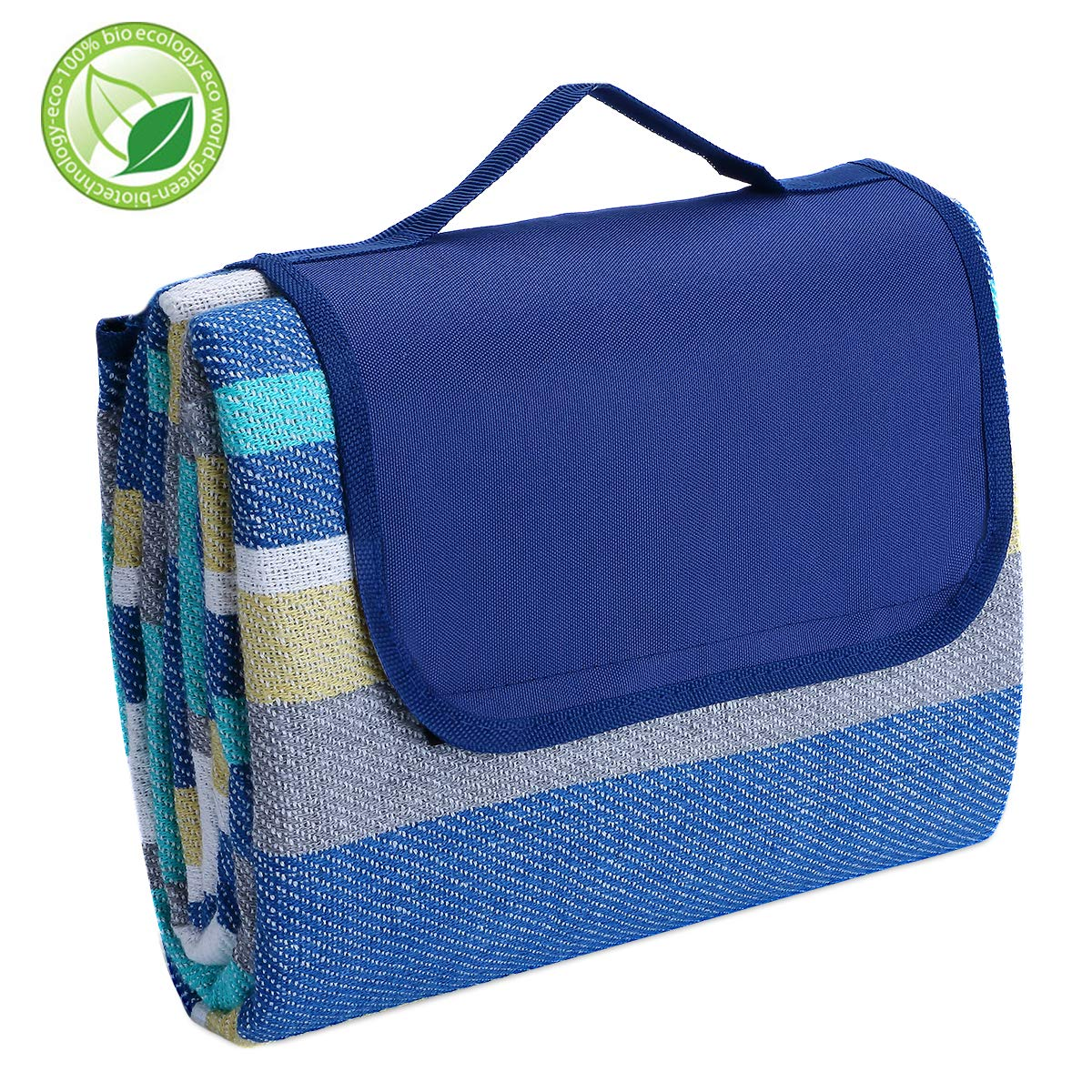 Exquisite Gift Picnic Blanket Waterproof Sandproof for Outdoor Camping Extra Large Beach Blanket Mat 78\