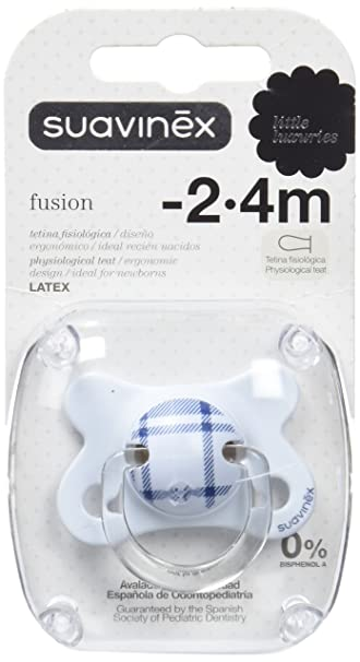 Amazon.com: Suavinex Fusion Soother Physiological Latex From ...