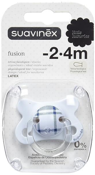 Amazon.com: Suavinex Chupete Fusión fisiológica de látex de ...