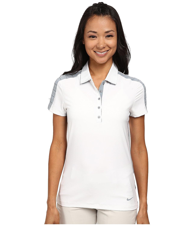 [ナイキ] Nike Golf レディース Seasonal Mesh Polo トップス [並行輸入品] XL White/Dove Grey/Dove Grey B01D2CXIBU