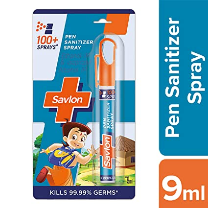 Savlon Hand Sanitizer Spray 9 Ml Amazon In Amazon Pantry