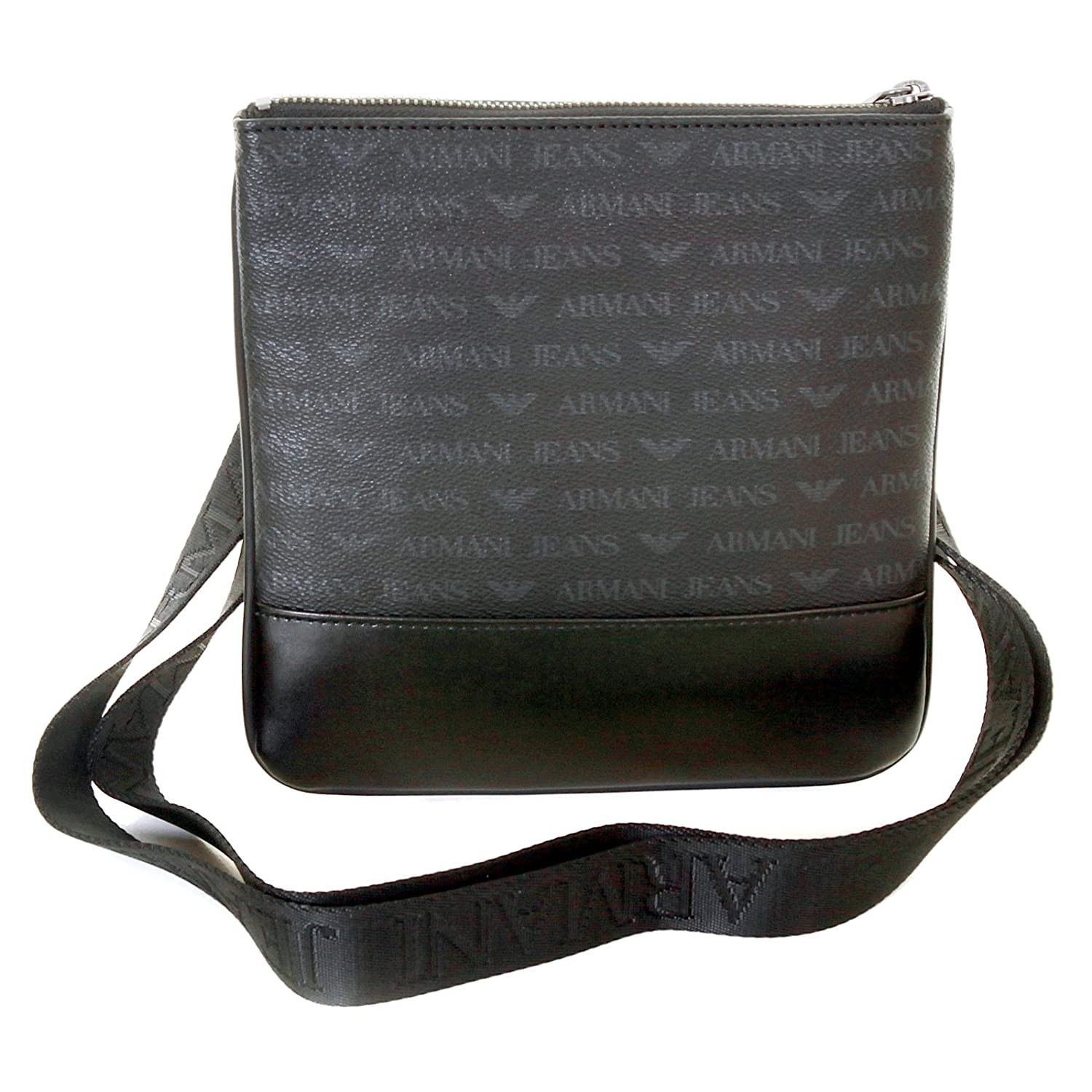Armani Jeans mens black 06205 J4 logo small messenger bag AJM2473   Amazon.ca  Luggage   Bags 4420e05196a23