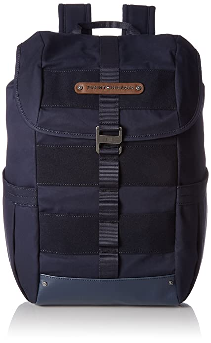 Tommy Hilfiger - Modern Nature Backpack, Mochilas Hombre, Blau (Tommy Navy),