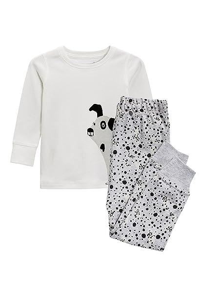 next Niñas Pijama De Diseño Abrigado (9 Meses - 6 Años) A Lunares Perro