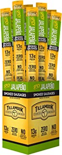 product image for Tillamook Country Smoker All Natural, Real Hardwood Smoked Jalapeño Snack Stick, 1.44-oz (Pack of 24)