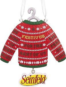 Hallmark Christmas Ornaments, Seinfeld Festivus for the Rest of Us Sweater Ornament