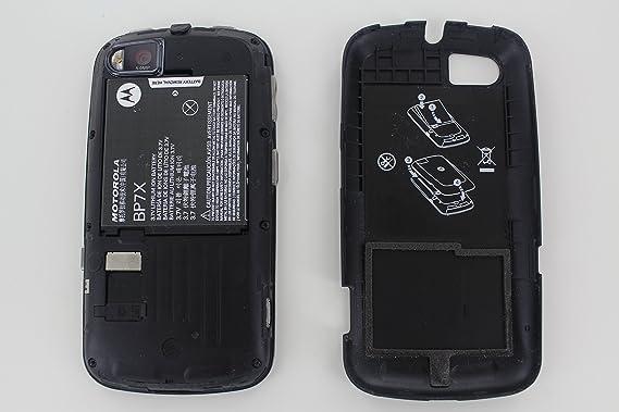 amazon com motorola admiral black 8gb sprint cell phones rh amazon com Durable Admiral Phone Holster Motorola Admiral Forum