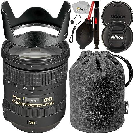Nikon AF-S DX NIKKOR 18-200 mm f/3.5-5.6G ED VR II Lente de zoom ...