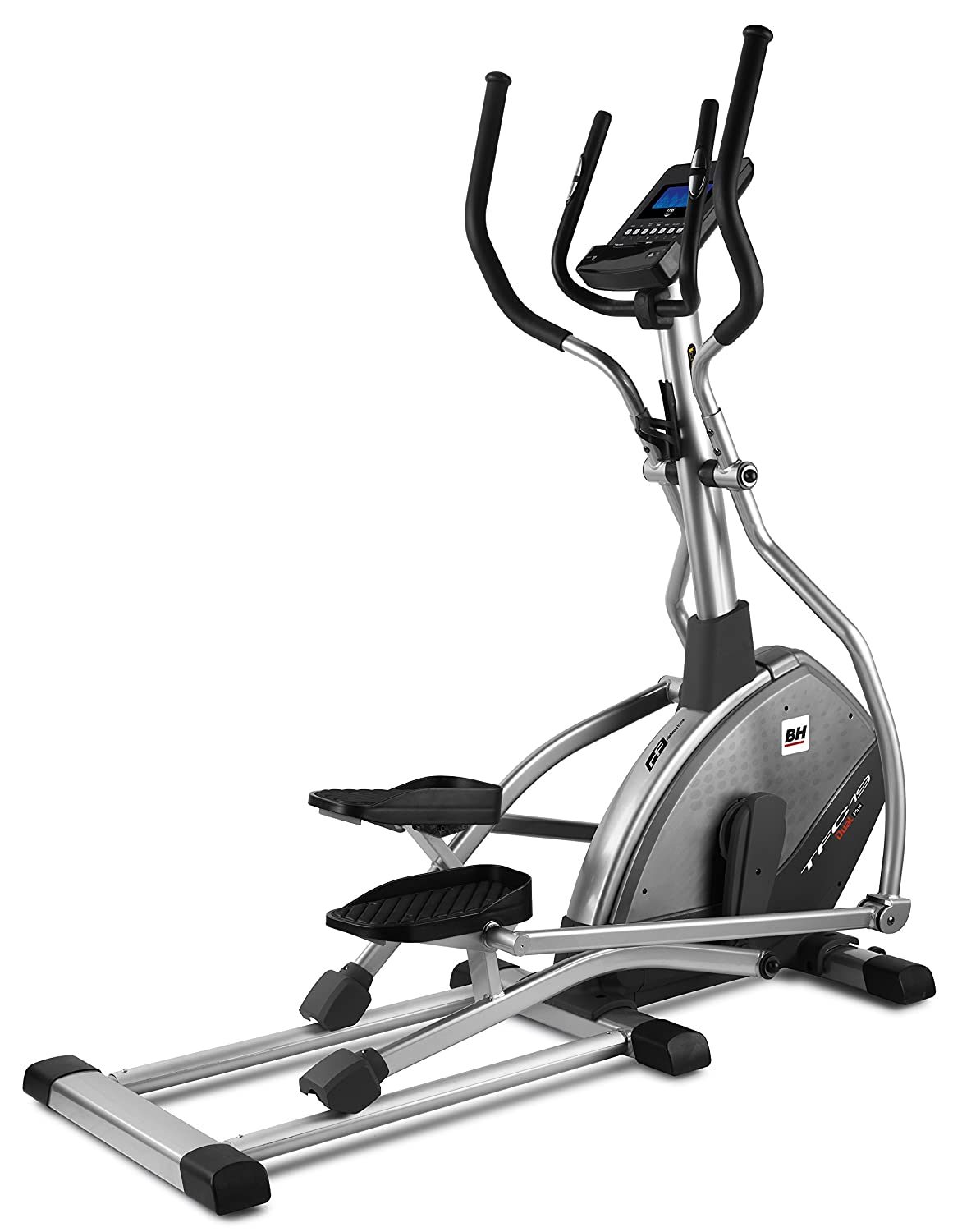69f53205fd8 BH Fitness - Bicicleta elíptica tfc19 Dual Plus + Dual Kit be  Amazon.es