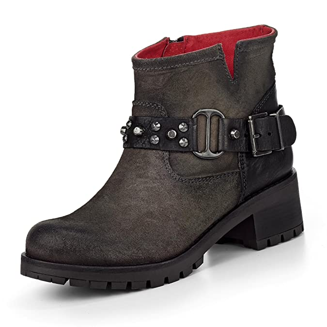 Buffalo Damen Es 30612 Trend Plisse Singapu Biker Boots: Buffalo:  Amazon.de: Schuhe & Handtaschen