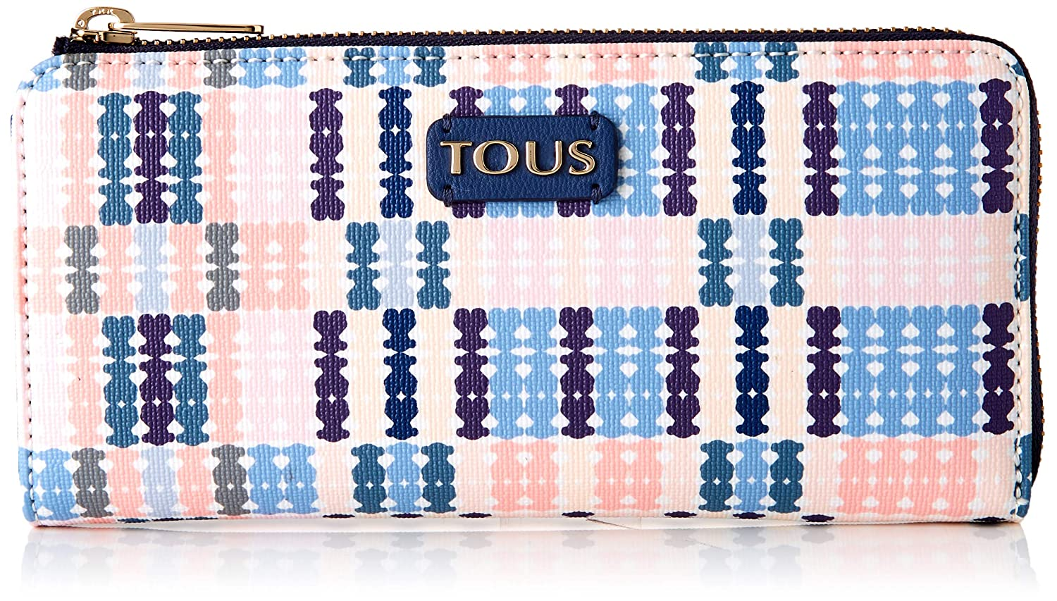 Amazon.com: Tous 995790084 - Cartera para mujer, color azul ...