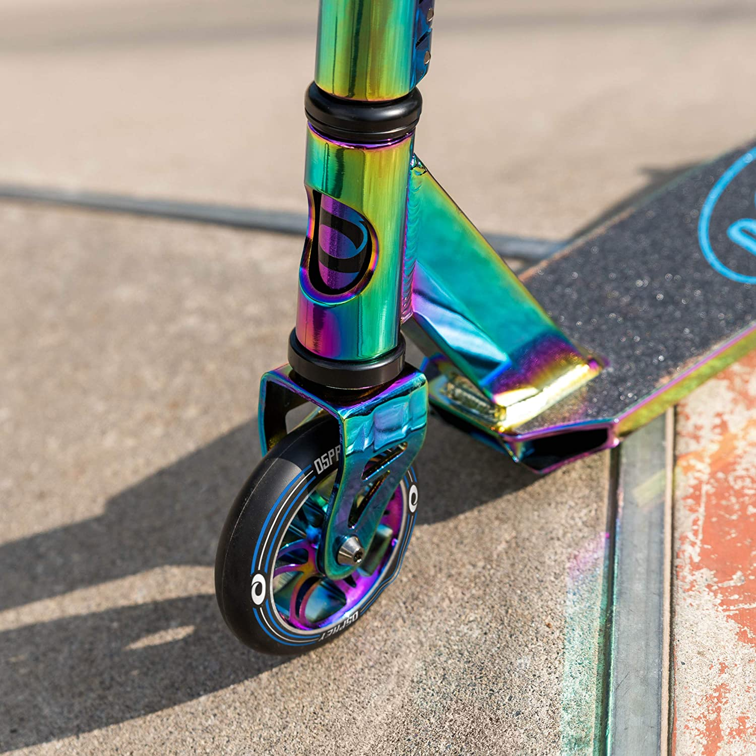 Osprey Stunt Scooter for Adults and Kids Boys Girls Advanced High Spec Trick T-Bar Scooter with ABEC 7 Bearings Neo Elite