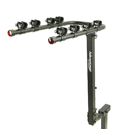 Receiver Hitch Bike Rack >> Heininger Automotive Black 3010 Advantage Sportsrack Tiltaway 4 Bike Rack Fits 2 Inch Receiver Hitch