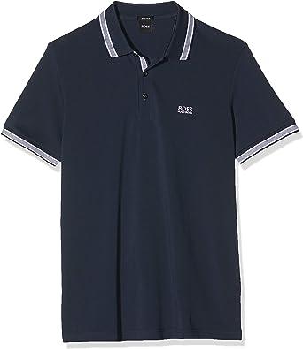 Hugo Boss Green Camisa de Polo de Paddy Negro, Navy, XXX-Large ...
