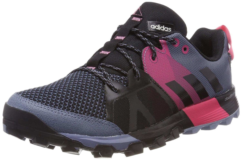 Adidas Kanadia 8.1 TR W, Zapatillas de Trail Running para Mujer 38 EU Varios Colores (Raw Steel / Off White / Real Pink 0)