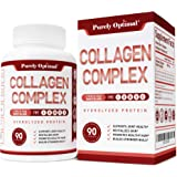 Premium Multi Collagen Peptides Capsules (Types I, II, III, V, X) - Anti-Aging, Hair, Skin and Nails, Digestive & Joint…