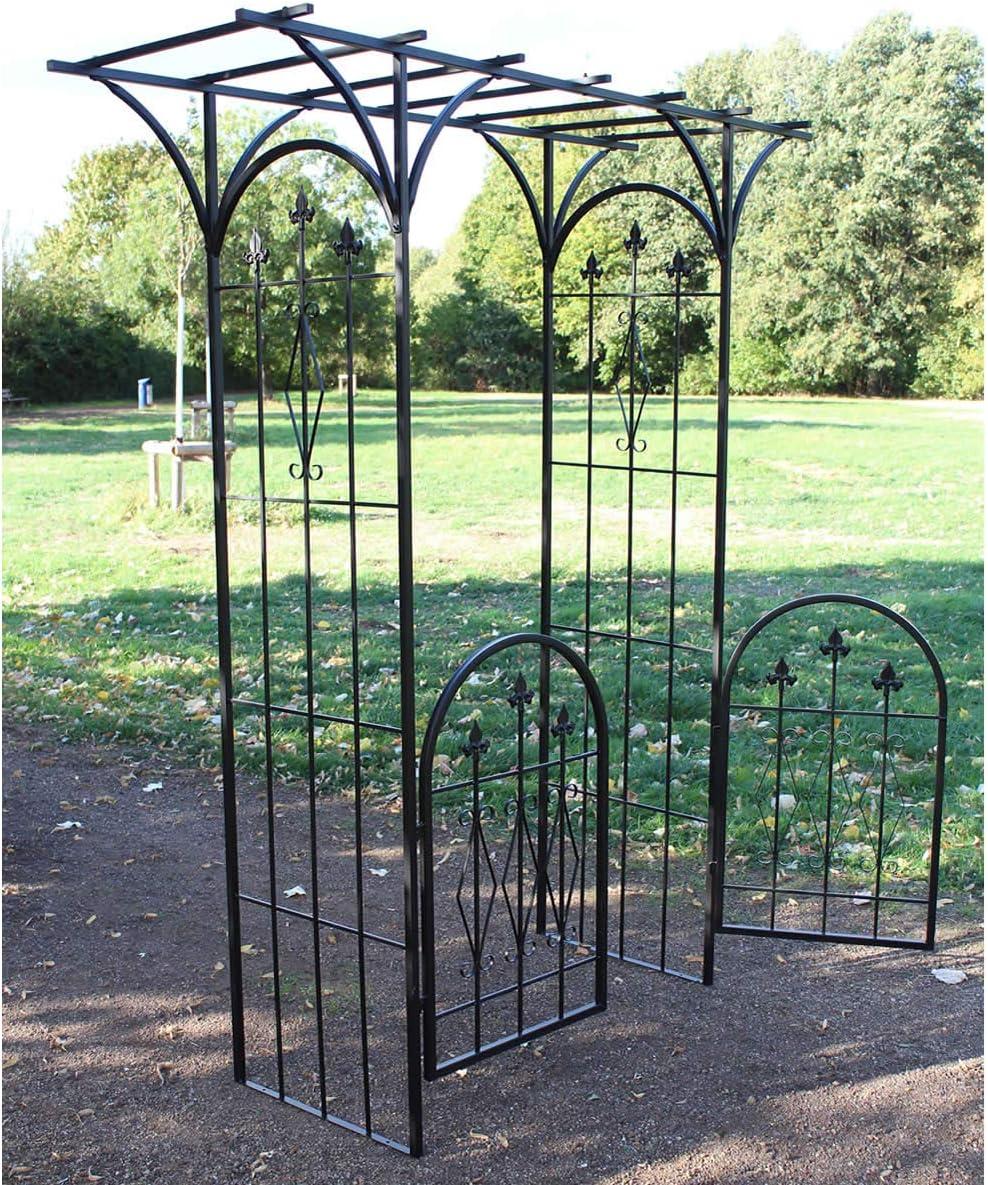 XXL Rose arco rankier ayuda Rose estructura Rank estructura Jardín ...