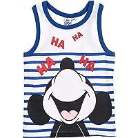 Mickey Mouse Niños Camiseta Sin Mangas