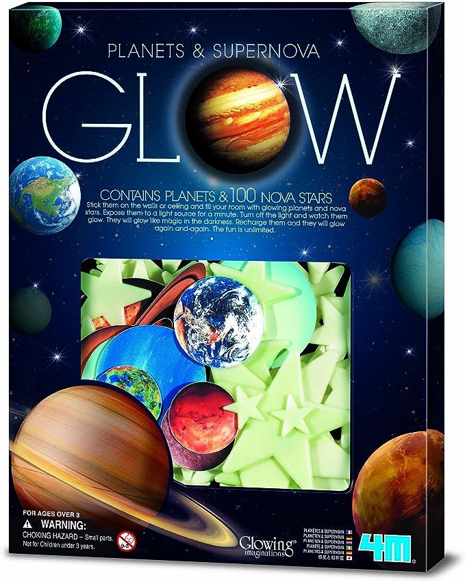 4M- Super Nova with Planets: In Box Ciencia, 100 Piezas (00-05631 ...