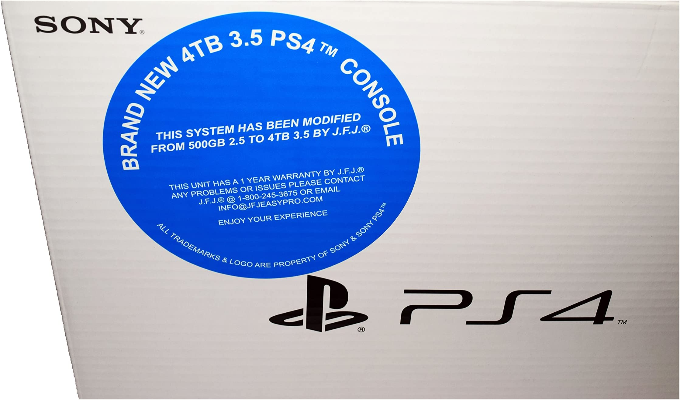 Amazon com: 4 TB PlayStation 4 Console: Video Games