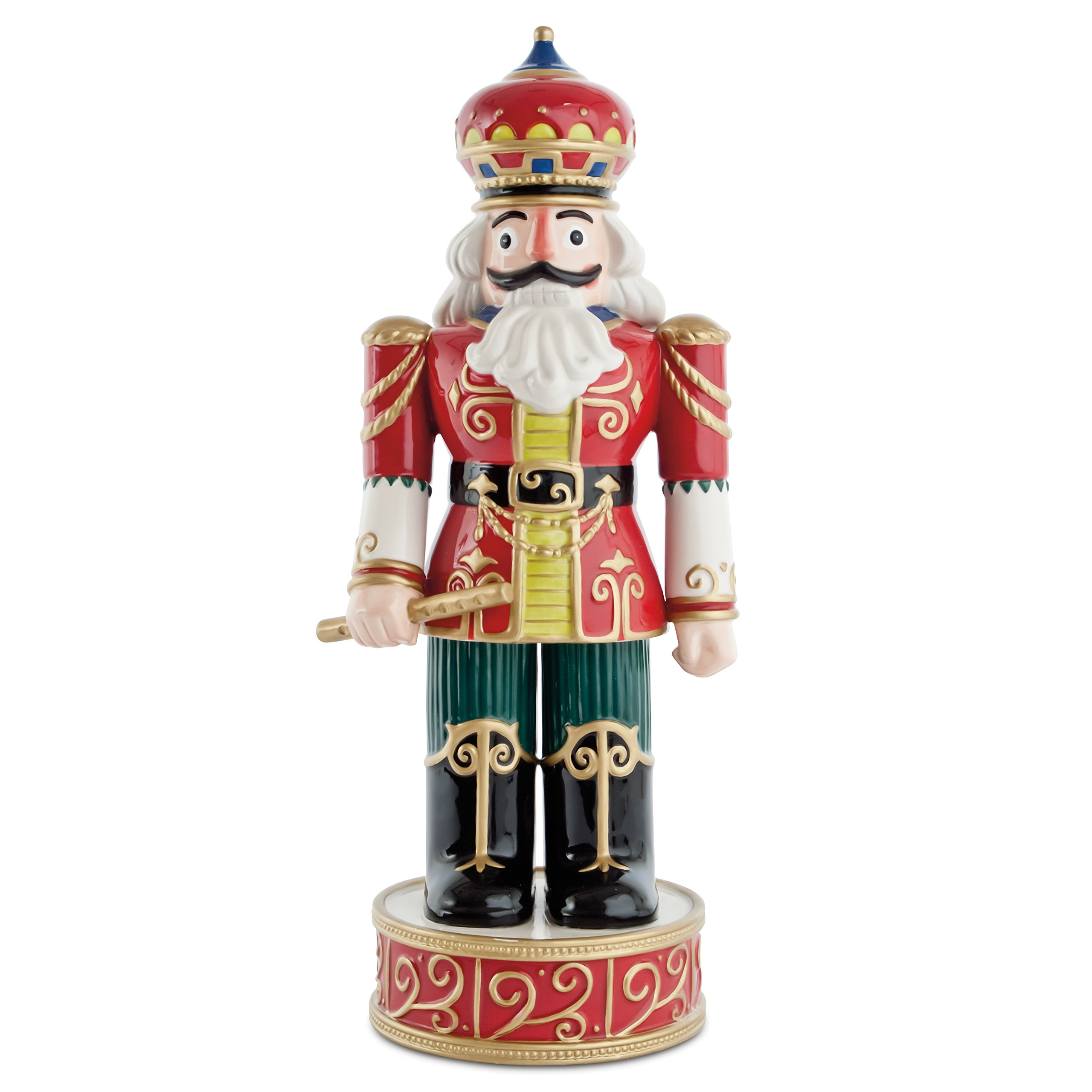 Classic Holiday Nutcracker, Red