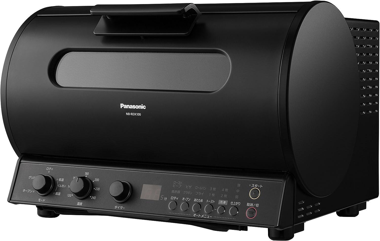 Amazon | パナソニック ロティサリーグリル&スモーク ブラック NB-RDX100-K | パナソニック(Panasonic) | ロースター 通販