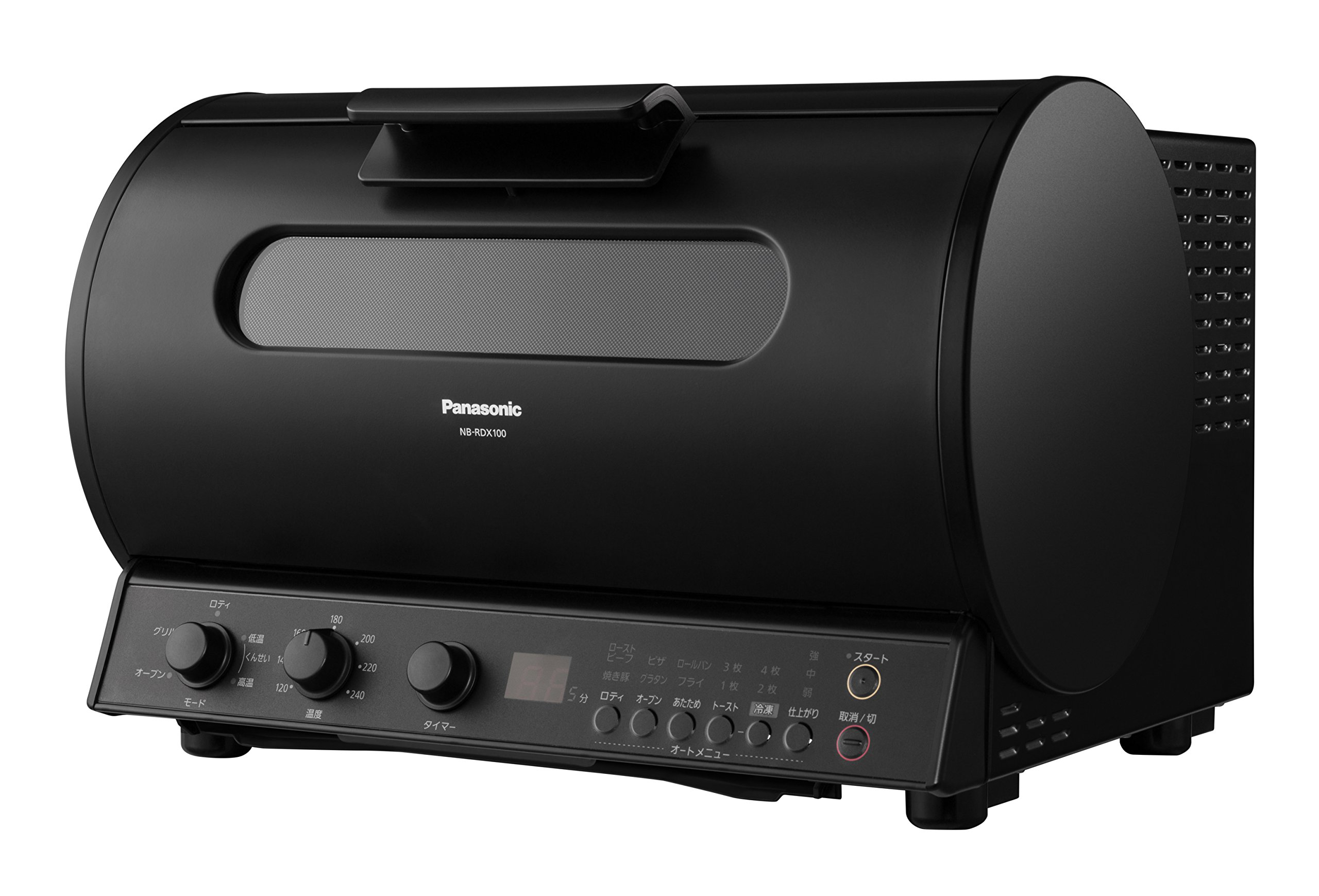 Panasonic Rotisserie Grill & Smoke NB-RDX100-K (Black)【Japan Domestic genuine products】