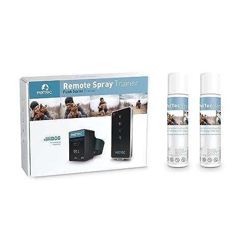 Spray Automático Anti Ladrido para Entrenar a Perros, con Señal Sonora, Control Inmediato,