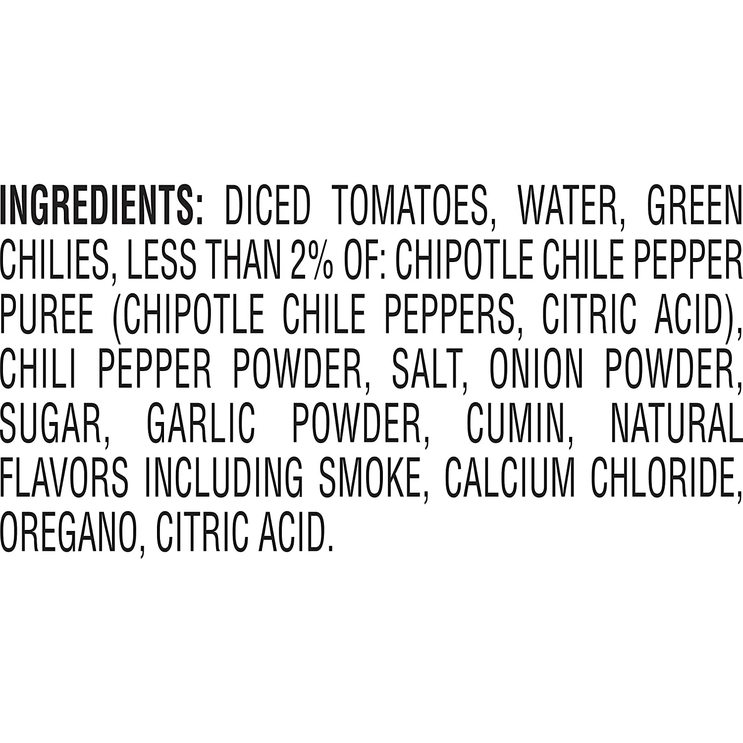Amazon Com Rotel Chipotle Diced Tomatoes With Green Chilies And