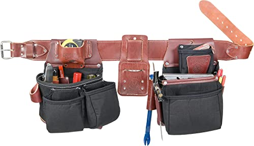 Occidental Leather B8080DB XXXL OxyLights Framer Set with Double Outer Bags – Black