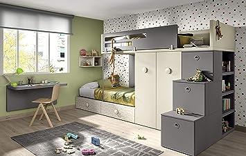 Exceptionnel Ambiato Vita 56 Chambre Du0027enfant 2 Enfants Grand Espace De Rangement  également Pour Petits