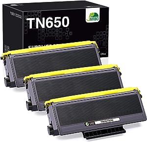 JARBO Compatible Toner Cartridge Replacement for Brother TN650 TN-650 TN580 TN-580 Toner Cartridges, 3 Black, for Brother HL-5370DW 5250DN 5340D 5240 Brother MFC-8890DW 8860DN 8480DN 8460N Printer