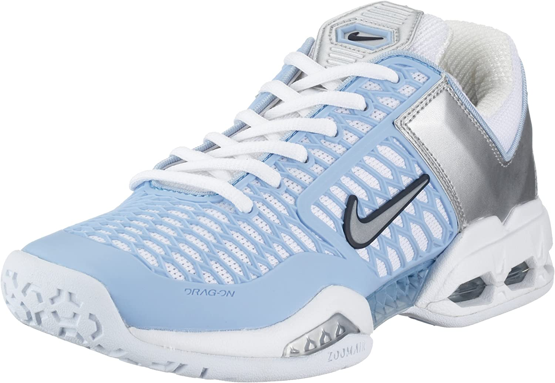 salud colgar Raza humana  Nike Women's Air Max Breathe Free II White/Met Silver-Dk Pbsidian-Blucap  308661-101 5.5 UK: Amazon.co.uk: Shoes & Bags