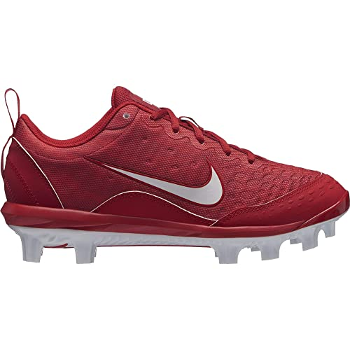fbbc81d2925 Image Unavailable. Image not available for. Color  Nike Women s  Hyperdiamond 2 Pro MCS Softball Cleat Gym Red White University ...