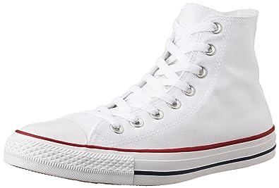 e2fc11bb6ee2 Converse Unisex s Optical White Sneakers - 7 UK India (40 EU)  Buy ...