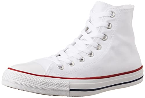 30d50bc5cda8d6 Converse Unisex s Optical White Sneakers - 6 UK India (39 EU)  Buy ...