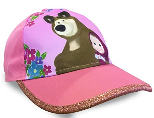 1a391a33 Jujak Masha and The Bear Baseball Cap: Amazon.co.uk: Clothing