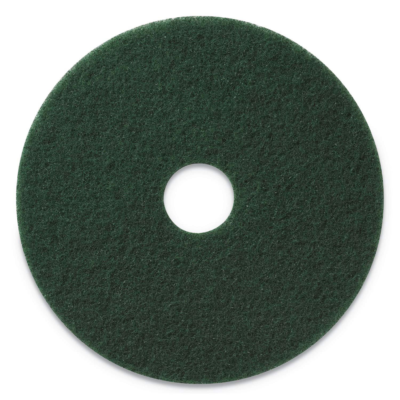 Glit/Microtron 400320 Wet Scrub/Light Strip Pad, 20'', Green (Pack of 5) by Glit / Microtron