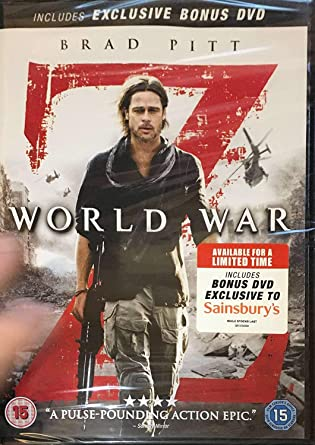 World War Z [2 Disc Version]: Amazon co uk: Brad Pitt: DVD