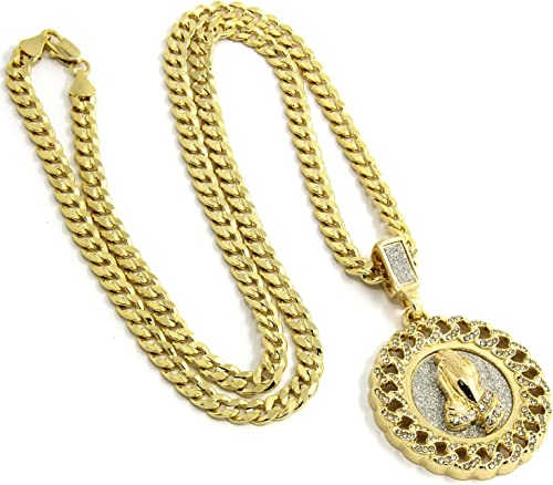 Metal Color: Silver Color, Length: 50cm Davitu Hip Hop Iced Out Bling Microphone Pendants Necklaces for Women//Men Stainless Steel Music Jewelry Hippie