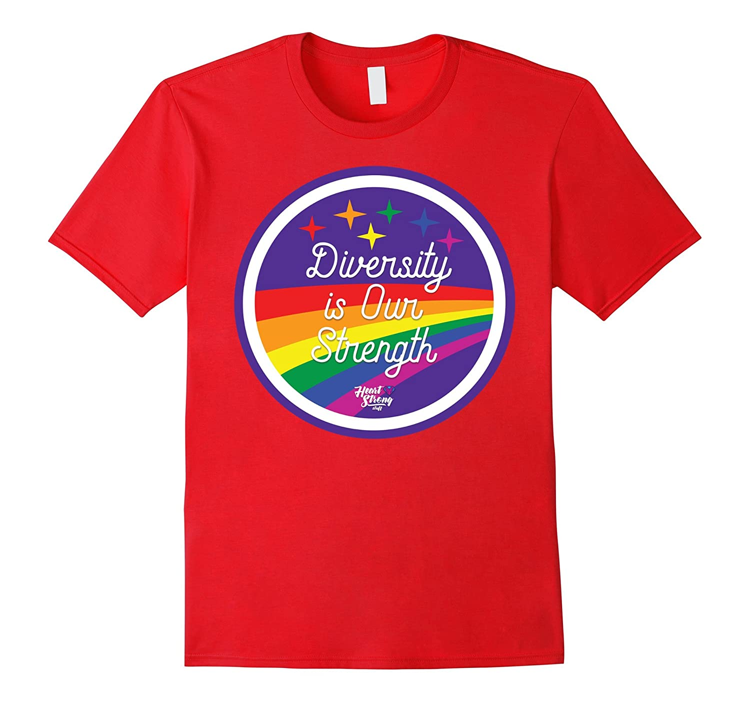 Diversity is Our Strength T-Shirt for Gay Pride-Vaci