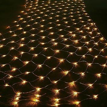 Amazon 984ft 656ft transparency led fairy mesh net 984ft 656ft transparency led fairy mesh net lights 204 mini string leds aloadofball Image collections