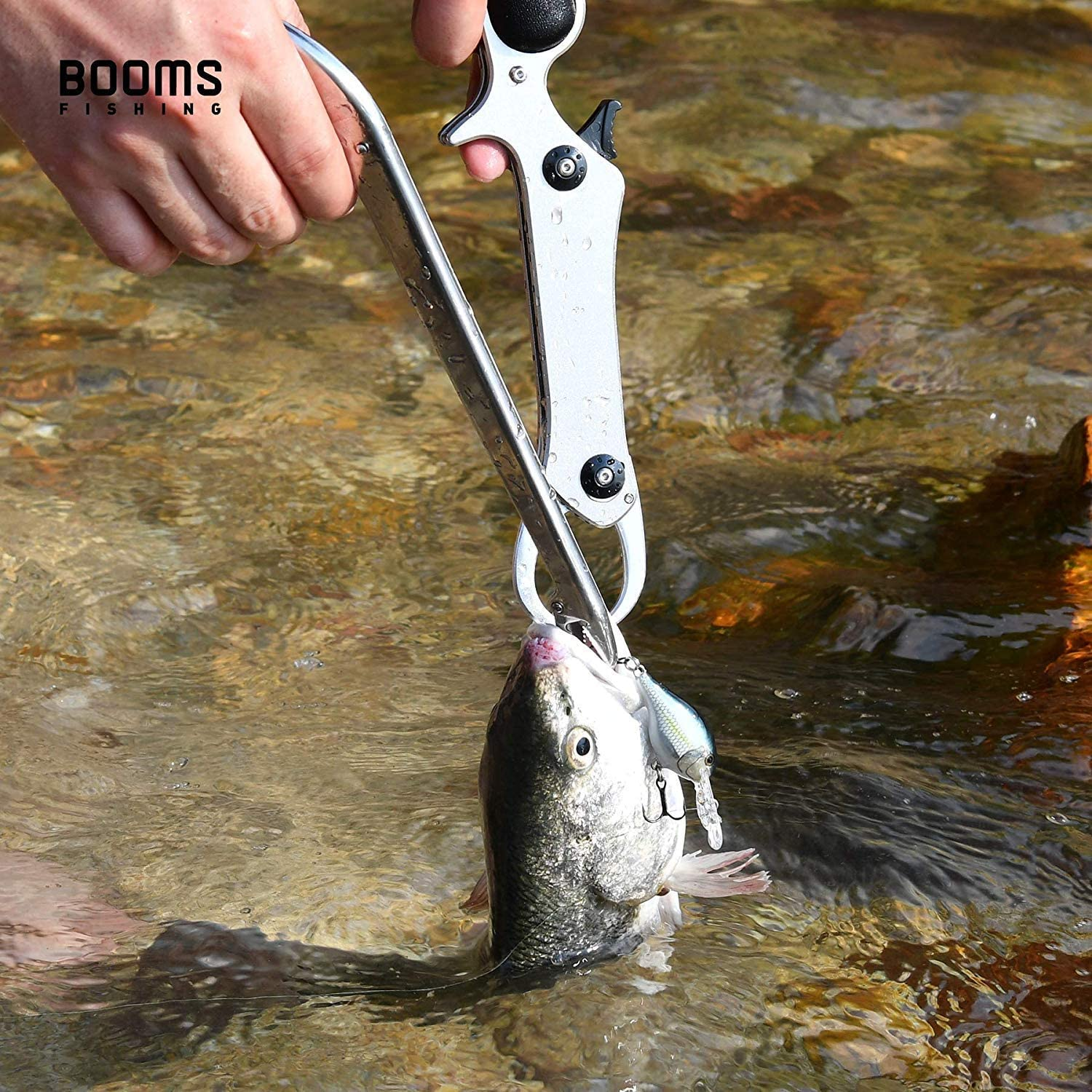 Booms Fishing R01 Fish Hook Remover and G04 Fish Gripper
