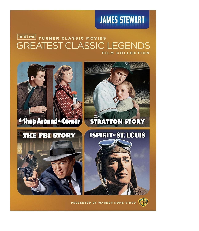 Amazon.com: TCM Greatest Classic Legends: James Stewart (The Shop ...