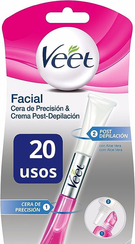 Veet Lapiz Facial Cera de Precision & Crema Post-depilación - 20 gr: Amazon.es: Salud y cuidado personal