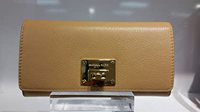 15562adc74ec Image Unavailable. Image not available for. Colour: Michael Kors Astrid  Carryall Clutch Wallet Suntan
