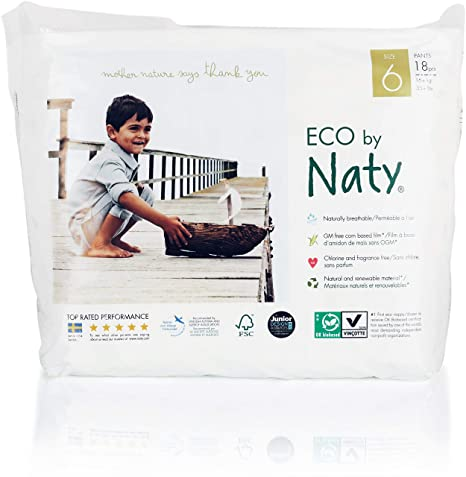 Naty By Nature Babycare Culottes Dapprentissage écologiques