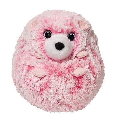 Amazon Com Swirly Pink Hedgehog 5 By Douglas Toys Games