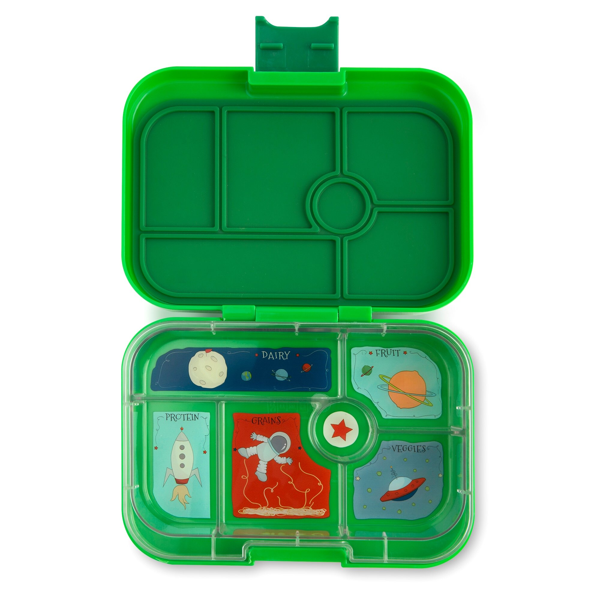 Yumbox Bento Lunch Box Original for Kids (Terra Green) by Yumbox