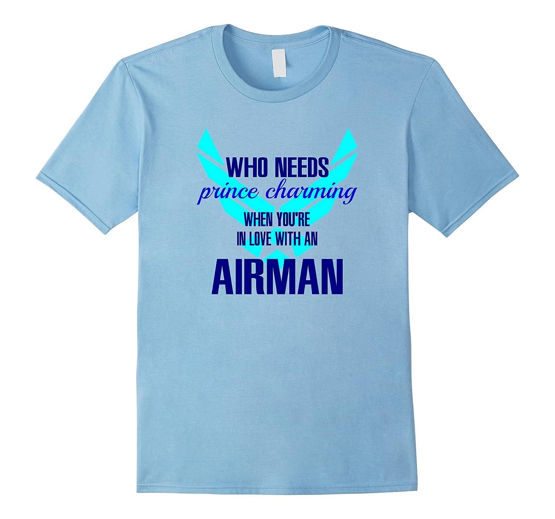 Airman Girlfriend Or Wife T Shirt-TJ